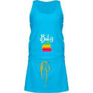 Платье женское  летнее с принтом iBaby