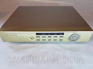 Сетевой регистратор DVR XKA-7804 на 4камеры и 1 аудиовход с выходом на интернет