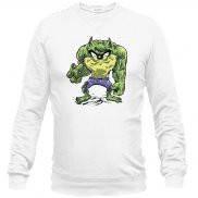 Свитшот мужской модный с принтом Hulk