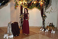 Ведуча Виїзної весільної церемонії.