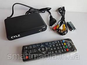 Цифровий телевізійний приймач DVB-Т2 CYLZ з функцією запису