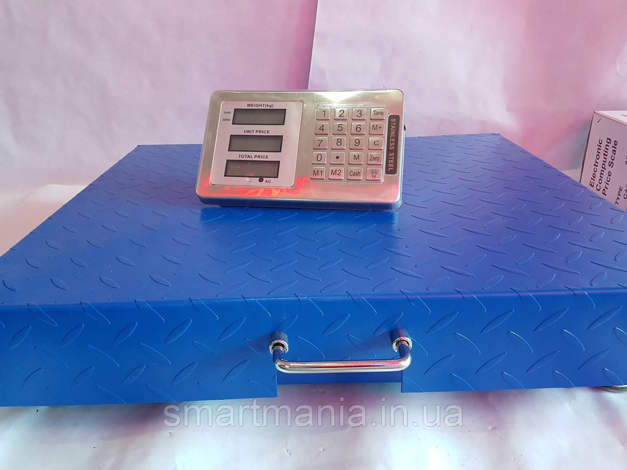 Весы торговые беспроводные Wi-Fi 600 кг 55 x 65, Товарные весы