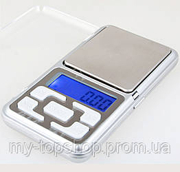 Кишенькові електронні високоточні ювелірні, кухонні ваги до 500 гр(0.1)