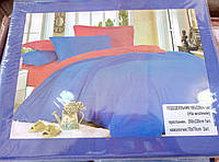 Полуторный хлопковый постельный комплект