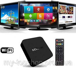 Приставка смарт ТВ Android Smart TV MXQ PRO 4K, смарт приставка к телевизору TV BOX Internet TV