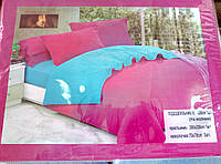 Двухспальный хлопковый постельный комплект
