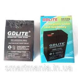 Акумулятор GDLITE GD-645 6V 4.0 Ah для ваг