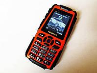 """Телефон Nokia LandRover M8 Оранжевый - 2Sim - 1.8"""" - Fm - Bt - Camera - Противоударный, фото 1"""