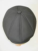 Мужские кепки восьмиклинки черного цвета., фото 1