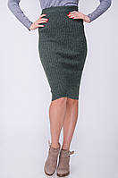 Стильная удлиненная юбка