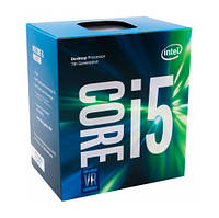 Процессор INTEL S1151 Core i5-7400 3.0GHz/8GT/s/6MB box, BX80677I57400