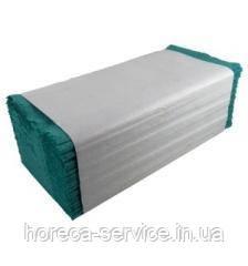 Альбатрос эстетик полотенца листовые, V-укладка, макулатура зеленого цвета