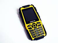 "Телефон Nokia LandRover M8 Желтый - 2Sim - 1.8"" - Fm - Bt - Camera - Противоударный"