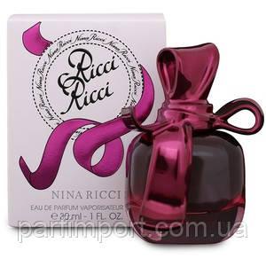 NINA RICCI RICCI RICCI EDP 30 ml  (оригинал подлинник  Франция)