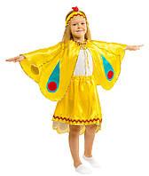 Детский карнавальный маскарадный костюм Жар птица размер: 30, 32, 34