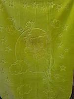 Детское меховое одеяло 100*140.Салатовый.