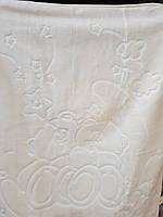 Детское меховое одеяло 100*140. Белый.