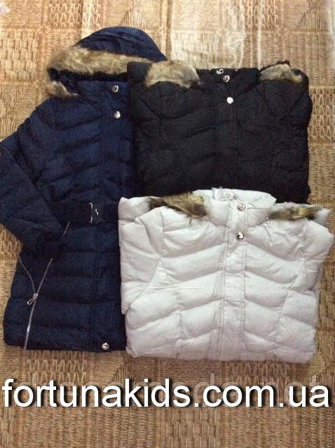 Куртки зимние на меху для девочек SEAGULL 8-16 лет
