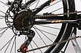 """Подростковый велосипед CROSSRIDE EXPLORER AMT 24"""",15""""  Черный / Оранжевый, фото 4"""