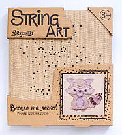 Набор для творчества Стринг-арт Енот 952911 1 Вересня, фото 1