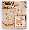 Набор для творчества Стринг-арт Оленёнок 952913 1 Вересня