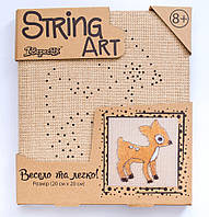Набор для творчества Стринг-арт Оленёнок 952913 1 Вересня, фото 1