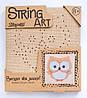 Набор для творчества Стринг-арт Сова 952897 1 Вересня
