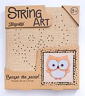 Набор для творчества Стринг-арт Сова 952897 1 Вересня, фото 1