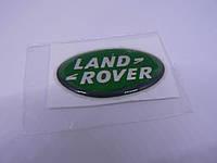 Наклейка s вставка в эмблему Land Rover овал 34,5х21х1,2мм силиконовая эмблема марка бренд на авто Ленд Ровер