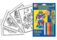 Набор для рисования пластилином Любимые игрушки 21С1363-08 950605 1 Вересня