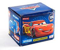 Мел цветной круглый 100 штук Cars 400211 1 Вересня