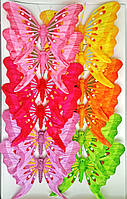 Декоративные бабочки на прищепке (18 см) 287004