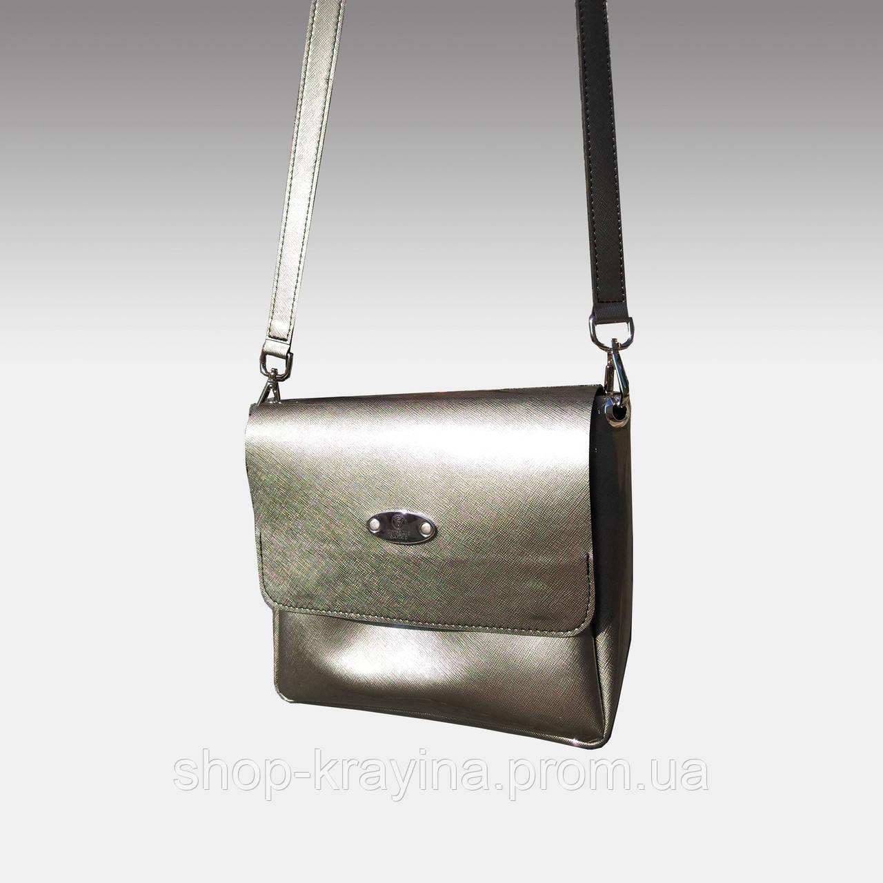 Cумка VS207  silver 20х15 см