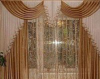 Ламбрекен со шторами Klassic