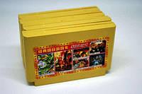Игровой картридж денди dendy с встроенными 500 играми все разные самые популярные