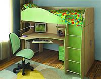 Кровать-чердак, мебель для детской комнаты