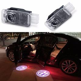 Подсветка двери с логотипом Volkswagen