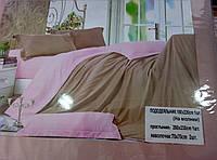 Яркий однотонный постельный комплект