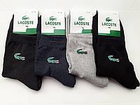 """Махровые мужские носки """"Lacoste"""" (махровые след)"""
