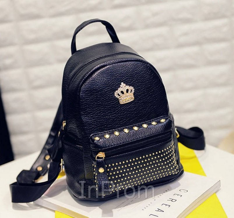 Рюкзак Crown Black