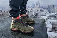 """Мужские  Кроссовки Nike Air Max 95 Sneakerboot """"Dark Loden"""" 42"""