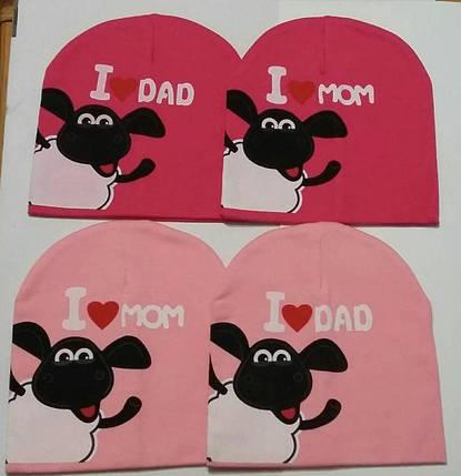 Демисезонные шапки для детей с барашком Шоном, фото 2