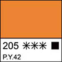 Краска акриловая ЛАДОГА, охра золотистая, 100мл ЗХК