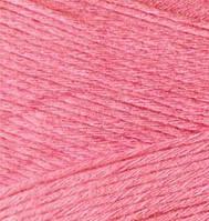 Турецкая  пряжа для  вязания Alize BAMBOO FINE (Бамбук файн) летняя пряжа бамбук -  560 ярко-розовый
