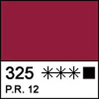 Краска акриловая художественная МАСТЕР-КЛАСС бордо 46 мл. ЗХК 352409 Невская палитра