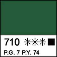 Краска акриловая художественная МАСТЕР-КЛАСС, зеленая темная 46мл ЗХК