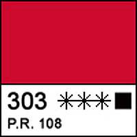 Краска акриловая художественная МАСТЕР-КЛАСС кадмий красный темный 46 мл. ЗХК 351517 Невская палитра