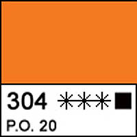 Краска акриловая художественная МАСТЕР-КЛАСС, кадмий оранжевый 46мл ЗХК