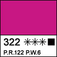 Краска акриловая художественная СОНЕТ розовая, 75мл ЗХК
