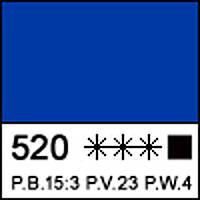 Краска акриловая художественная СОНЕТ синяя светлая, 75мл ЗХК
